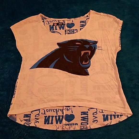 new arrival 88960 6798f Carolina panthers! Crop top. Nfl apparel